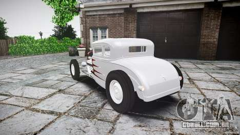 Ford Hot Rod 1931 para GTA 4 traseira esquerda vista