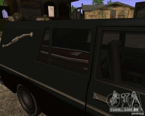 Coffin San Andreas Stories para GTA San Andreas traseira esquerda vista