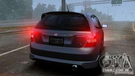 Honda Civic Type-R (EP3) para GTA 4 vista direita