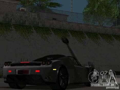 Ferrari Enzo Novitec V1 para GTA San Andreas vista interior