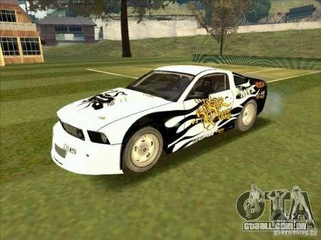Ford Mustang Drag King from NFS Pro Street para GTA San Andreas