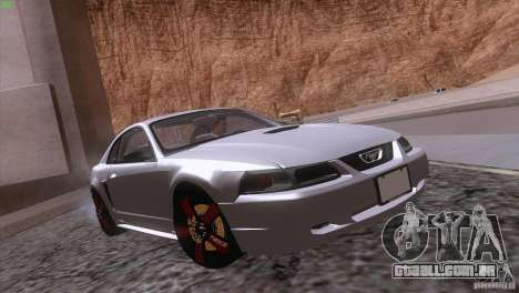 Ford Mustang GT 1999 para o motor de GTA San Andreas