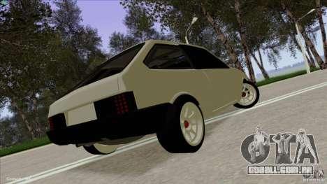 ВАЗ 2108 Sport para GTA San Andreas esquerda vista