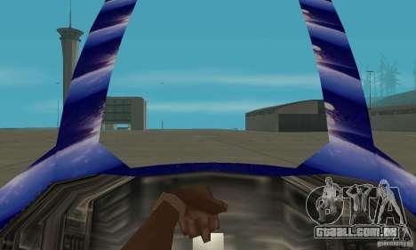 Chuckup para GTA San Andreas vista traseira