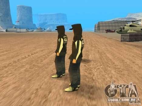 Ken Block Family para GTA San Andreas segunda tela
