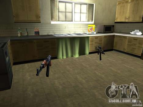 Pak versão doméstica de armas 2 para GTA San Andreas oitavo tela
