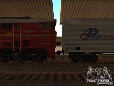 2te10v-4833 para GTA San Andreas esquerda vista