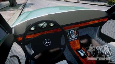 Mercedes-Benz 280SE W116 para GTA 4 vista de volta