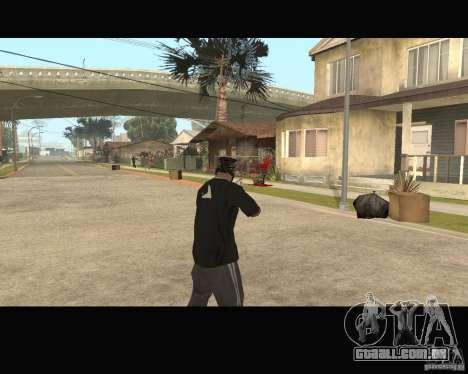 Sangue na tela v2 para GTA San Andreas terceira tela