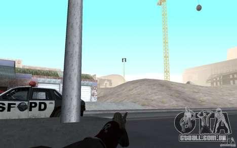 Nova animação tiro espingardas para GTA San Andreas segunda tela