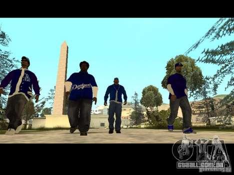 Piru Street Crips para GTA San Andreas décima primeira imagem de tela