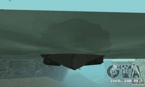 Barco de Cod mw 2 para GTA San Andreas vista direita