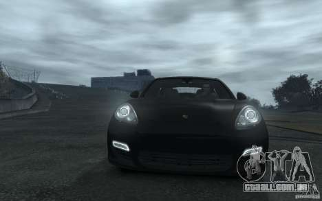Porsche Panamera Turbo para GTA 4 vista lateral