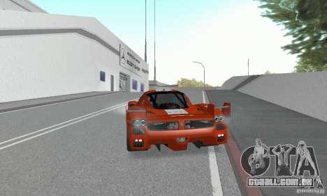 Ferrari FXX para GTA San Andreas esquerda vista