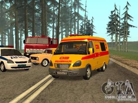 GÁS ressuscitação 32217 para GTA San Andreas vista traseira