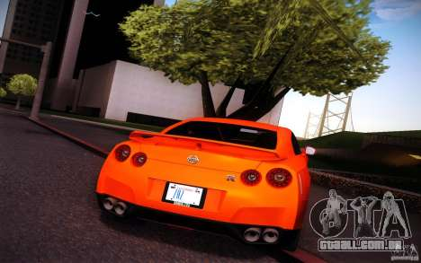 New Graphic by musha v3.0 para GTA San Andreas segunda tela