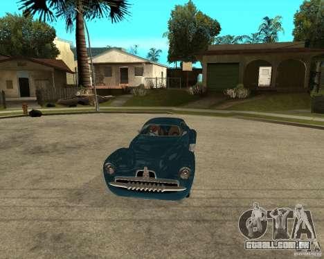 Holden Efijy para GTA San Andreas vista traseira