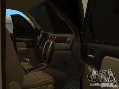 Chevrolet Silverado 3500 para GTA San Andreas vista direita
