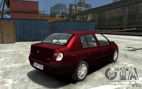 Renault Clio 1.4L para GTA 4 vista direita