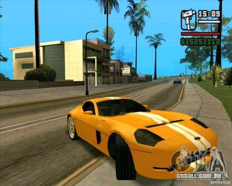 Shelby GR-1 para GTA San Andreas