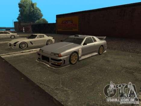 Elegia padrão para GTA San Andreas traseira esquerda vista
