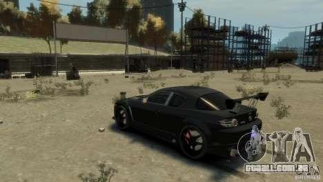 MAZDA RX8 para GTA 4 vista direita