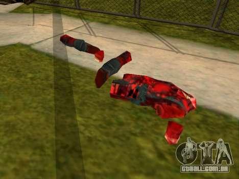 Massacre da serra elétrica v. 2.0 para GTA San Andreas terceira tela