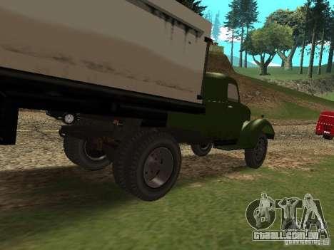 ZIL 164P para GTA San Andreas traseira esquerda vista
