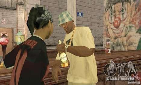Cerveja SLAVUTYCH para GTA San Andreas segunda tela