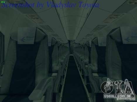 Embraer ERJ 190 LOT Polish Airlines para GTA San Andreas vista superior