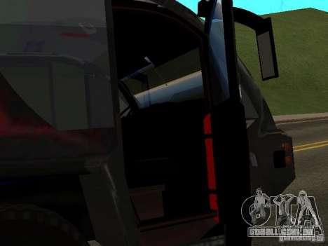 MAN Rosenbauer para GTA San Andreas vista traseira