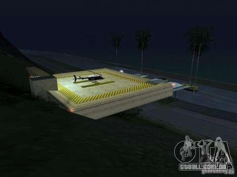 Posto policial 2 para GTA San Andreas por diante tela