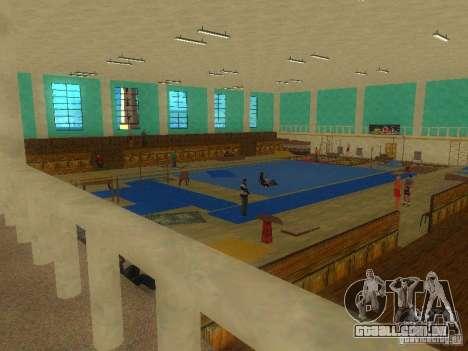 Tricking Gym para GTA San Andreas segunda tela