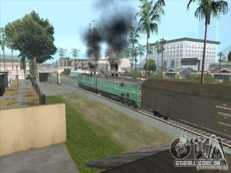 2te10v-3390 para GTA San Andreas esquerda vista