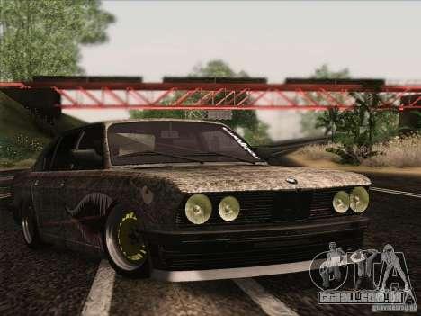 BMW E28 525E RatStyle para GTA San Andreas