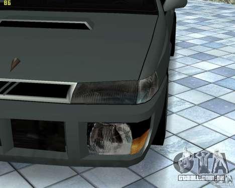 Novas máquinas de textura para GTA San Andreas quinto tela
