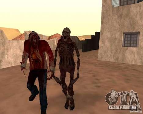 Zombie Half life 2 para GTA San Andreas nono tela