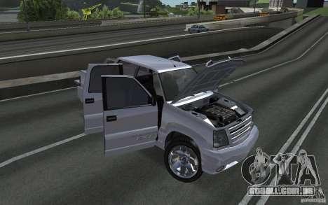 Cavalgada FXT do GTA 4 para GTA San Andreas vista direita