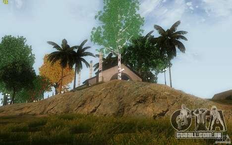 New Country Villa para GTA San Andreas sexta tela