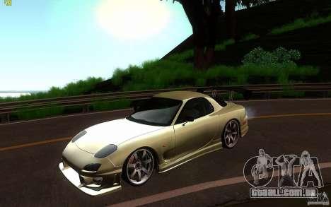 Mazda Rx7 C-West para GTA San Andreas