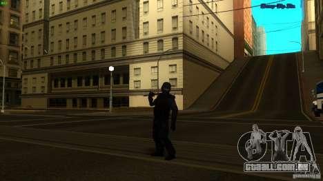 SWAT Officer para GTA San Andreas terceira tela