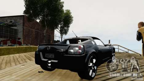 Opel Speedster Turbo 2004 para GTA 4 vista direita
