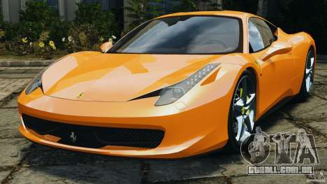Ferrari 458 Italia 2010 v3.0 para GTA 4