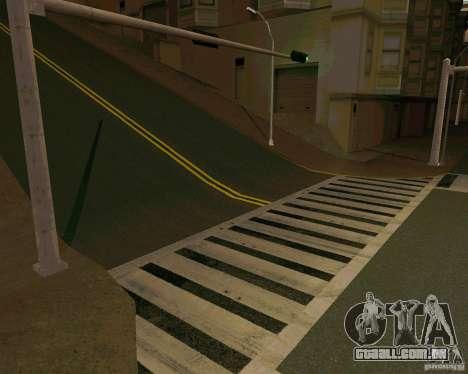 GTA 4 Roads para GTA San Andreas por diante tela