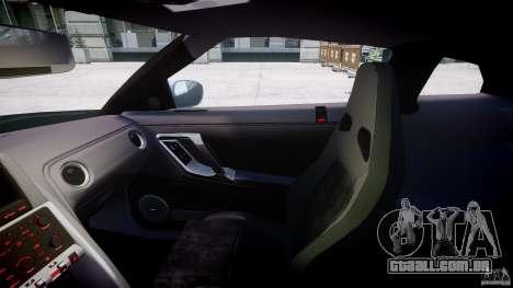 Nissan GT-R R35 2010 v1.3 para GTA 4 vista de volta