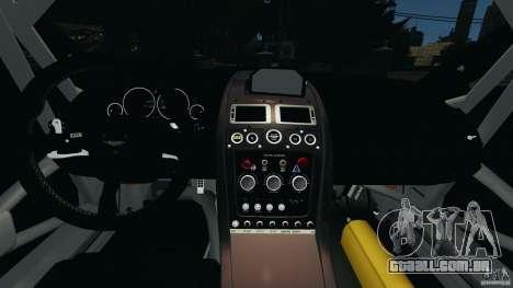 Aston Martin V12 Zagato 2011 v1.0 para GTA 4 vista de volta