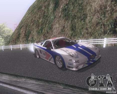 Honda NSX Japan Drift para o motor de GTA San Andreas