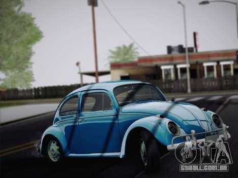 Volkswagen Beetle 1967 V.1 para GTA San Andreas esquerda vista
