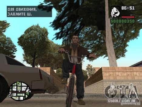 Niko Bellic para GTA San Andreas sexta tela