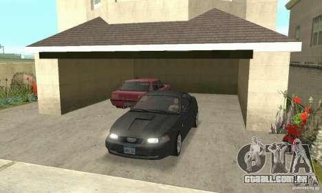 Ford Mustang GT 1999 (3.8 L 190 hp V6) para GTA San Andreas